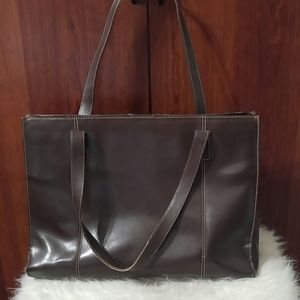 WILSONS LEATHER Brown Leather Tote